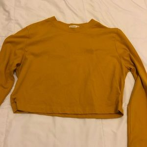 3 for $10 Cropped cotton on long-sleeved Tee